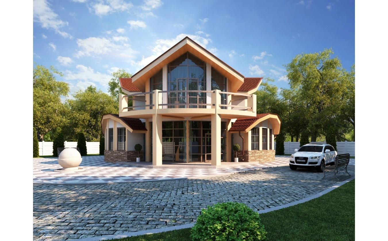 проекты каркасных домов 200 кв м